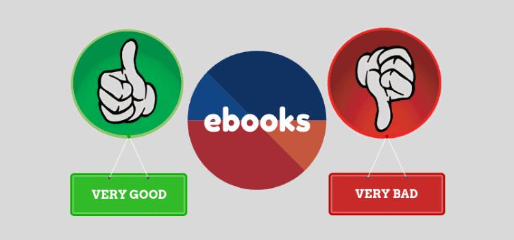 ebooks good and bad