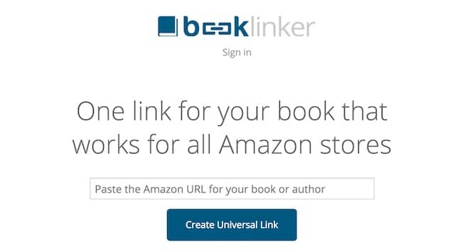 Promote your book with Book Linker