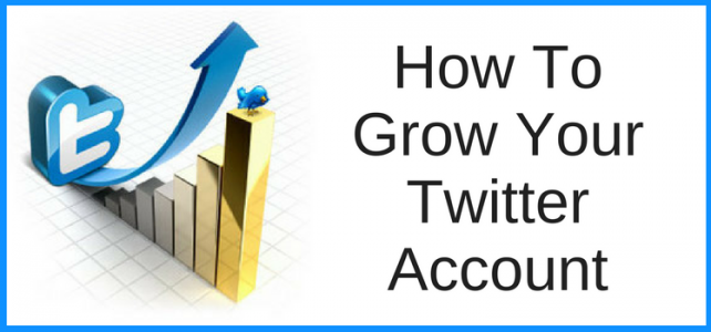 How To Grow Your Twitter Account To Promote Your Books