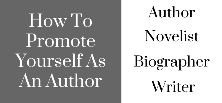 Promote As An Author