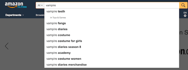 Amazon keyword ideas 1