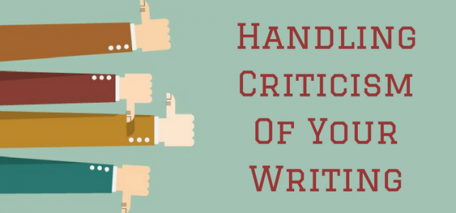 How To Handle Online Criticism Of Your Writing