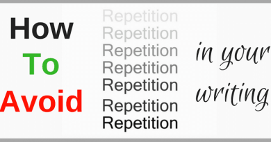 How To Avoid Repetition In Writing