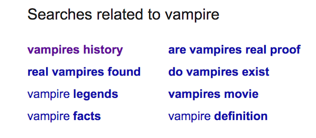 Amazon KDP Keywords vampire vampire1