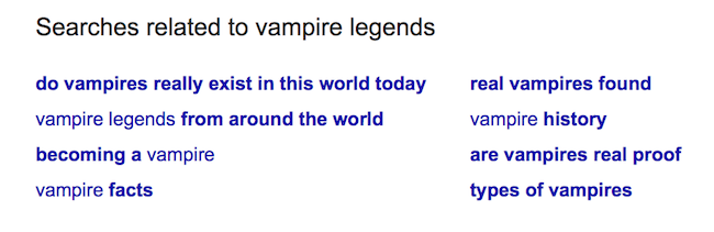 Amazon KDP Keywords vampire3