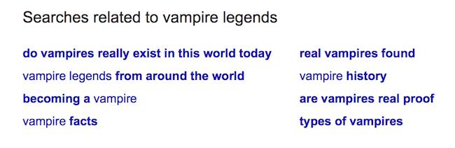 Amazon KDP Keywords vampire3