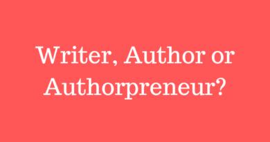 Writer Author Authorpreneur