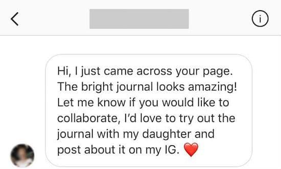 Book promotion on Instagram