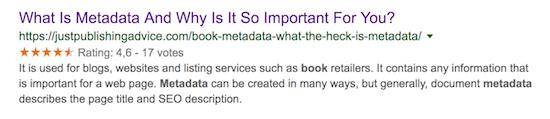 metadata serp