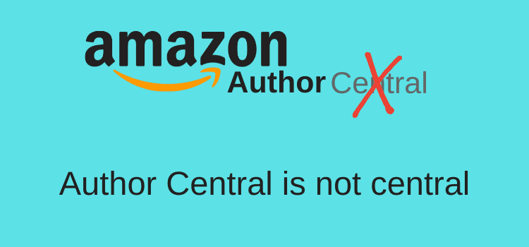 Author Central Is Not Central