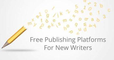 Free Publishing Platforms For Writers