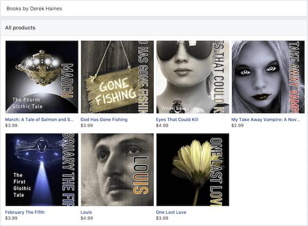 facebook bookshop