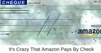 Amazon Pays By Check