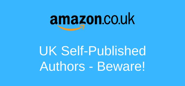 UK Authors Beware Of Amazon Geoblocking