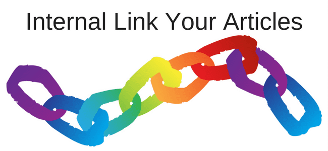 Internal Link Your Articles