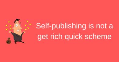 Self-publishing is no get rich scheme