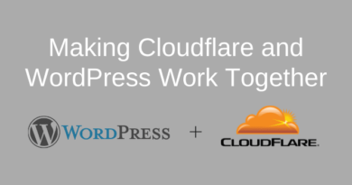 Cloudflare Rules and WordPress