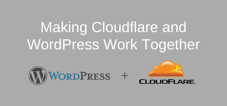 Cloudflare Page Rules and WordPress