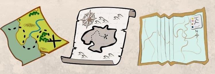 Fiction Maps