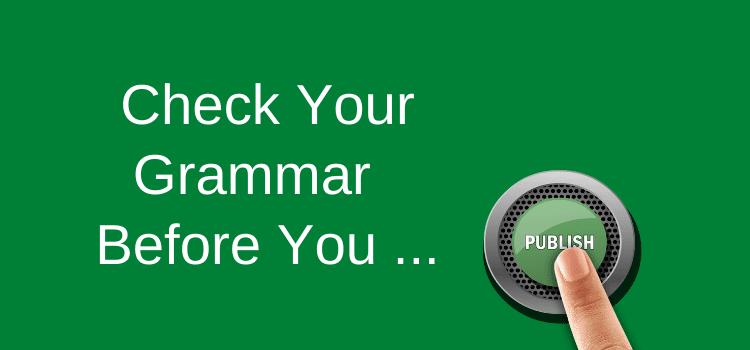 Check Your Grammar