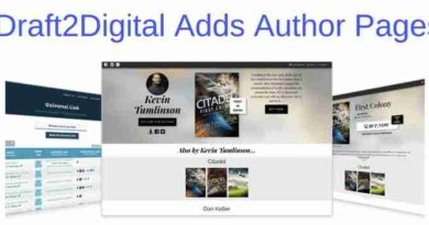 Draft2Digital New Author Page
