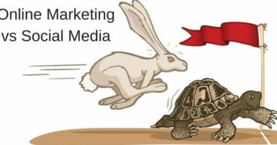 Online Marketing v Social Media