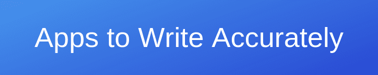 accuracy writing apps