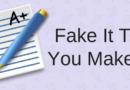 Fake It Till You Make It As A Writer