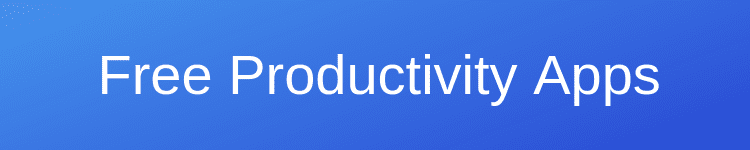 Free Writing Productivity Apps