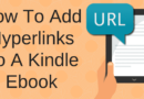How To Add Hyperlinks To An Ebook