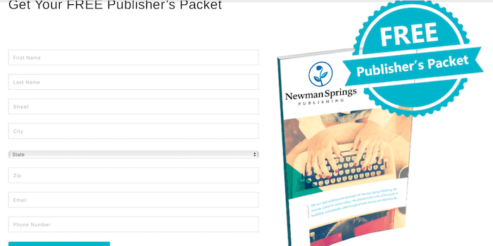 Free Publishers Packet