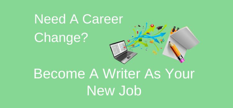 Writing Career Change