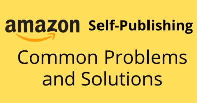 Amazon Self-Publishing Problems