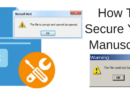 You Need To Be A Good File Manager To Secure Your Manuscript