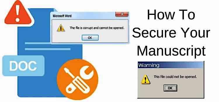 Protect Your Manuscript