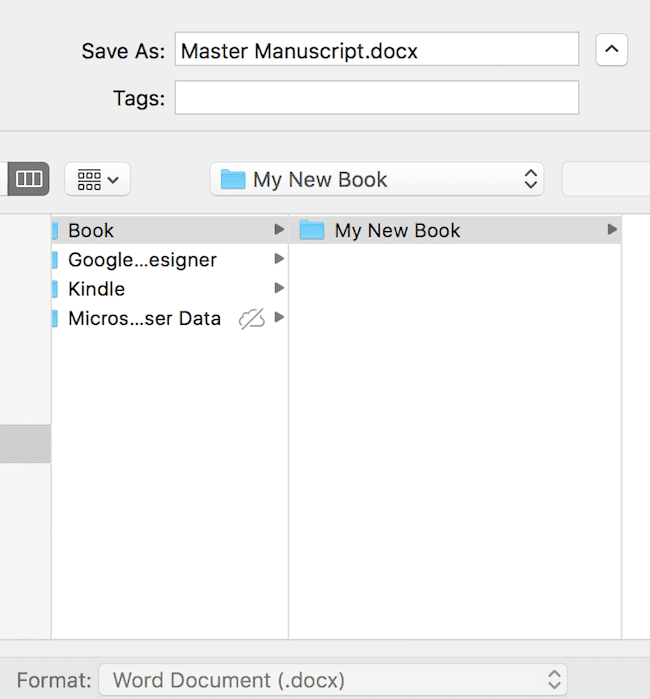 To Protect A Manuscript You Need To Be A Good File Manager