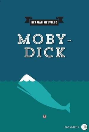 moby dick with a hyphen