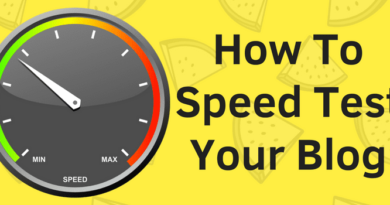 How To Speed Test Your Blog