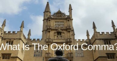 What Is An Oxford Comma