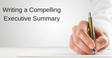 Writing a Compelling Executive Summary