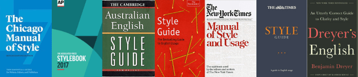 english language style guides