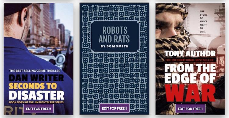 Design Wizard  free book cover maker