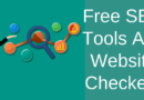 Free SEO Tools And Website Checkers