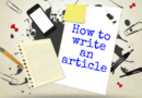 How To Write An Article That Will Rank And Be Read A Lot