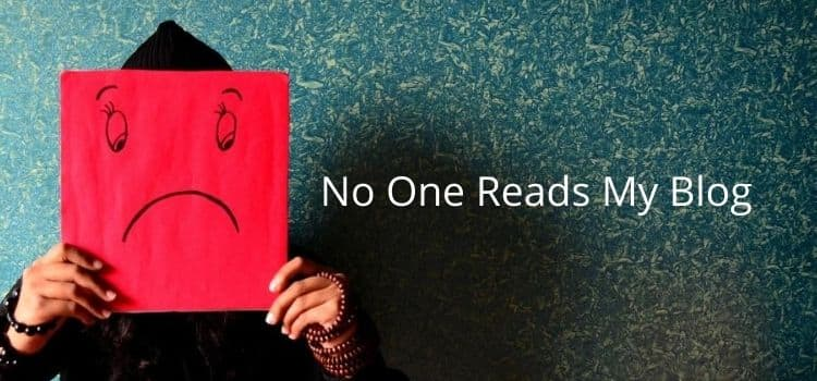 No One Reads My Blog