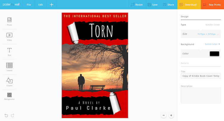 are you looking for a free book cover creator for your book