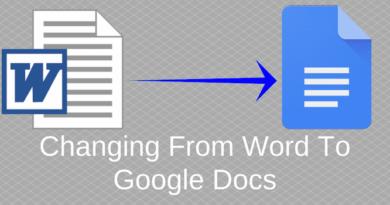 Word to Google Docs