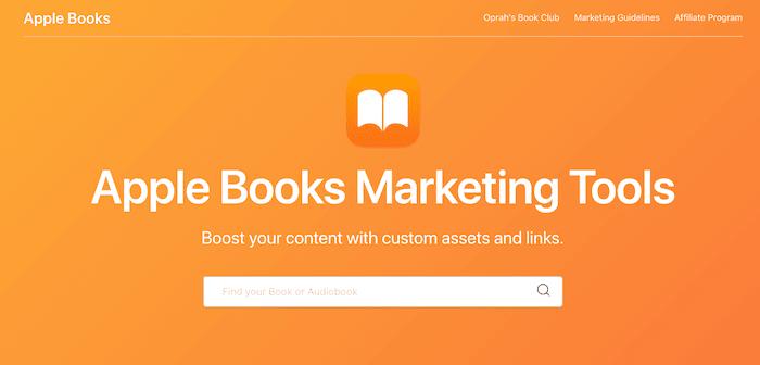 Apple Books Marketing