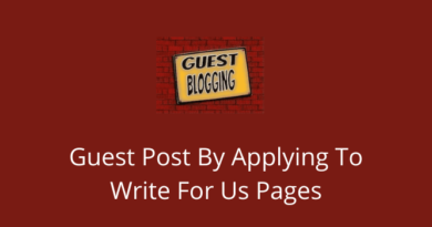 Guest Post By Applying To Write For Us Pages