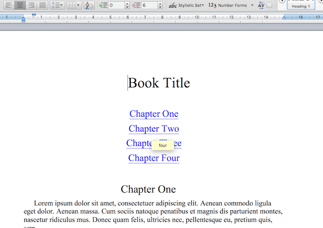 The Complete Guide On How To Make A Book Table of Contents